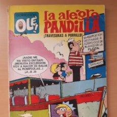 """Tebeos: OLÉ 77 LA ALEGRE PANDILLA """"¡TRAVESURAS A PORRILLO!"""" 1ª EDICIÓN (1973) SEGURA. Lote 244694965"""