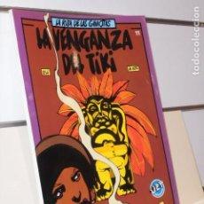 Tebeos: LA RUTA DE LAS GAVIOTAS LA VENGANZA DEL TIKI Nº 11 - JET BRUGUERA OCASION. Lote 244727035
