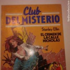 Tebeos: CLUB DEL MISTERIO 1 EDICIÓN AÑO 1983 Nº 114. Lote 244758150