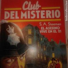 Tebeos: CLUB DEL MISTERIO 1 EDICIÓN AÑO 1983 № 101. Lote 244765015