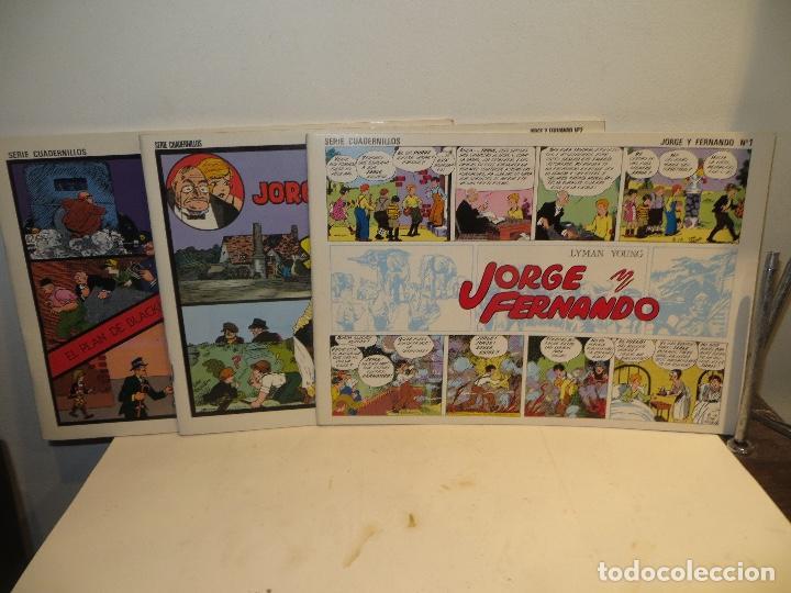 Tebeos: JORGE FERNANDO LOTE DE 3 CUADERNILLOS EL 1,2 Y 3 COMO NUEVOS,BARATOS - Foto 2 - 244854945
