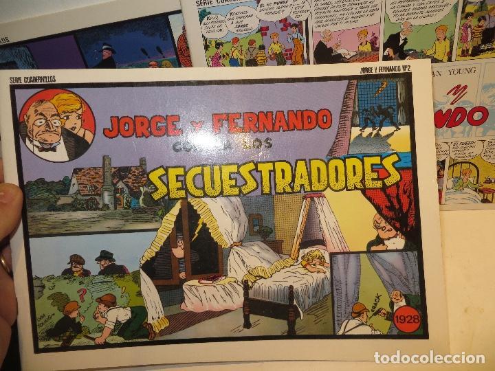 Tebeos: JORGE FERNANDO LOTE DE 3 CUADERNILLOS EL 1,2 Y 3 COMO NUEVOS,BARATOS - Foto 4 - 244854945