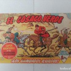 Tebeos: EL COSACO VERDE Nº1. Lote 244857945