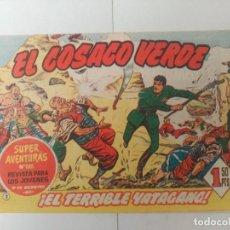 Tebeos: EL COSACO VERDE Nº2. Lote 244858260