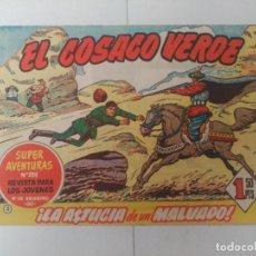 Tebeos: EL COSACO VERDE Nº3. Lote 244858515