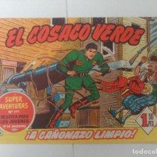 Tebeos: EL COSACO VERDE Nº4. Lote 244858685