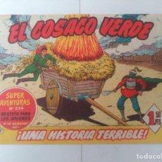 Tebeos: EL COSACO VERDE Nº5. Lote 244858855
