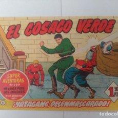 Tebeos: EL COSACO VERDE Nº6. Lote 244859065