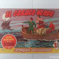 Tebeos: EL COSACO VERDE Nº7. Lote 244859220