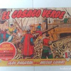 Tebeos: EL COSACO VERDE Nº8. Lote 244859515