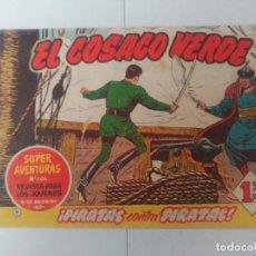 Tebeos: EL COSACO VERDE Nº9. Lote 244859735