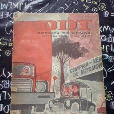 Tebeos: BRUGUERA - REVISTA DE HUMOR DDT NUM. 767 ( 5 PTS. ) AÑO 1966 . BUEN ESTADO. Lote 244870465