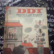 Tebeos: BRUGUERA - REVISTA DE HUMOR DDT NUM. 774 ( 5 PTS. ) AÑO 1966 . BUEN ESTADO. Lote 244872035