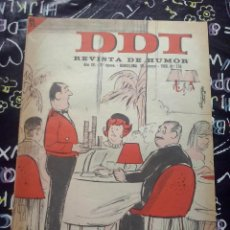 Tebeos: BRUGUERA - REVISTA DE HUMOR DDT NUM. 778 ( 5 PTS. ) AÑO 1966 . BUEN ESTADO. Lote 244873545