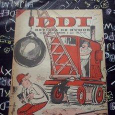 Tebeos: BRUGUERA - REVISTA DE HUMOR DDT NUM. 779 ( 5 PTS. ) AÑO 1966 . BUEN ESTADO. Lote 244873890