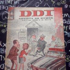 Tebeos: BRUGUERA - REVISTA DE HUMOR DDT NUM. 785 ( 5 PTS. ) AÑO 1966 . BUEN ESTADO. Lote 244876120