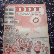 Tebeos: BRUGUERA - REVISTA DE HUMOR DDT NUM. 788 ( 5 PTS. ) AÑO 1966 . BUEN ESTADO. Lote 244878510