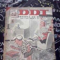 Tebeos: BRUGUERA - REVISTA DE HUMOR DDT NUM. 791 ( 5 PTS. ) AÑO 1966 . BUEN ESTADO. Lote 244881685