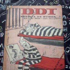 Tebeos: BRUGUERA - REVISTA DE HUMOR DDT NUM. 792 ( 5 PTS. ) AÑO 1966 . BUEN ESTADO. Lote 244881965