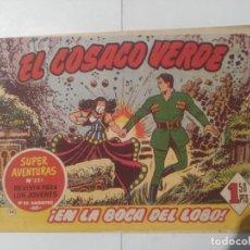 Tebeos: EL COSACO VERDE Nº14. Lote 244892765
