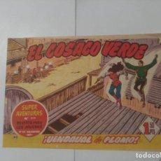 Tebeos: EL COSACO VERDE Nº80. Lote 244893550