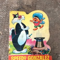 Tebeos: SPEEDY GONZALEZ EN MAGIA NEGRA - TROQUELADOS TELE COLOR - ED. BRUGUERA 1967. Lote 245007770