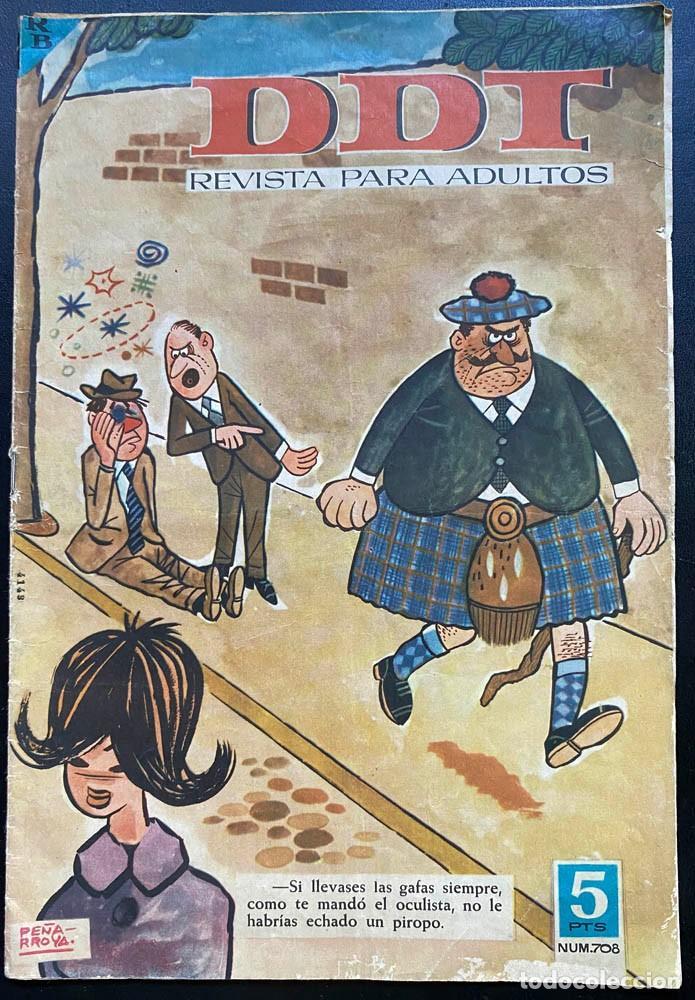 DDT REVISTA PARA ADULTOS Nº 708 - BARCELONA 1964 (Tebeos y Comics - Bruguera - DDT)