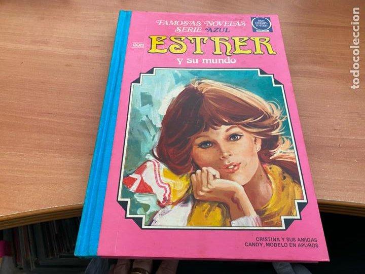 ESTHER Y SU MUNDO TOMO VOLUMEN Nº 3 SEGUNDA EDICION (BRUGUERA) SERIE AZUL JOYAS LITERARIAS (COIB195) (Tebeos y Comics - Bruguera - Esther)
