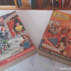 Tebeos: * TIO VIVO 2ª EPOCA * BRUGUERA 1961-1981 * LOTE DE 25 Nº (36 AL 61) EXCELENTES *. Lote 245053180