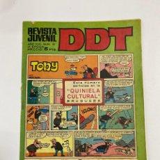 Tebeos: DDT. REVISTA JUVENIL. AÑO XVII. Nº 37. III EPOCA. EDITORIAL BRUGUERA. Lote 245171380
