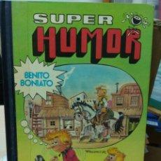 Tebeos: SUPER HUMOR BENITO BONIATO NÚMERO 1 PRIMERA EDICIÓN 1984. Lote 245177260