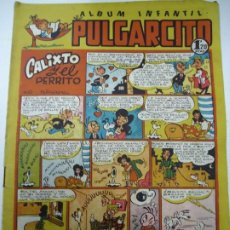 Tebeos: ALBUM INFANTIL PULGARCITO Nº 68 CALIXTO Y EL PERRO POR PEÑARROYA EJEMPLAR ORIGINAL BIEN CONSERVADO. Lote 245204300