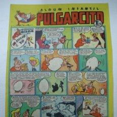 Tebeos: ALBUM INFANTIL PULGARCITO Nº 104. LAS HERMANAS GILDA EN EL HUEVO Y YO POR MANUEL VAZQUEZ. Lote 245206060