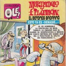 Tebeos: COLECCION OLE - 187 M 102 - MORTADELO Y FILEMON - 1ª EDICION - NOVIEMBRE 1988. Lote 245256160