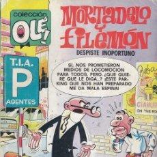 Tebeos: COLECCION OLE - 150 M 114 - MORTADELO Y FILEMON - 1ª EDICION - FEBRERO 1989. Lote 245256505