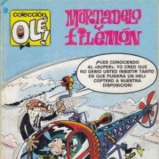 Tebeos: COLECCION OLE - 218 M 120 - MORTADELO Y FILEMON - 1ª EDICION - MARZO 1989. Lote 245256705