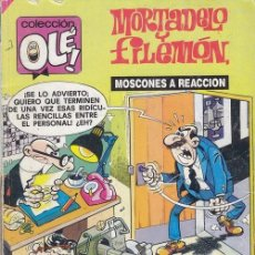 Tebeos: COLECCION OLE - 175 M 140 - MORTADELO Y FILEMON - 1ª EDICION - JUNIO 1989. Lote 245256840