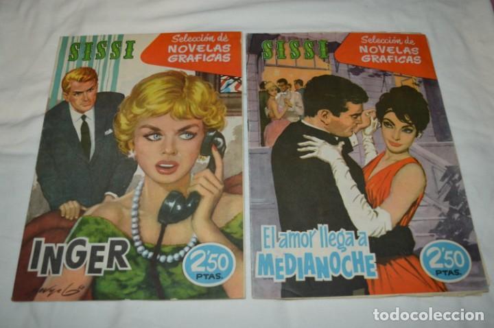 Tebeos: SISSI / 15 revistas / Muy buen estado, sin guillotina - Incluye un ALMANAQUE / Años 60 ¡Mira! Lote 1 - Foto 2 - 245290510