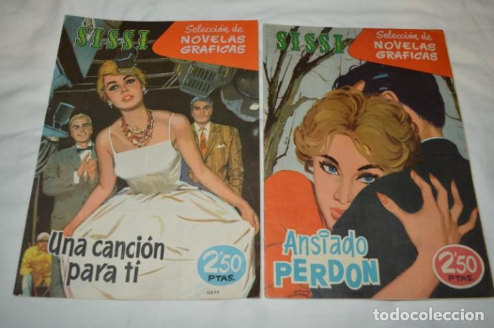 Tebeos: SISSI / 15 revistas / Muy buen estado, sin guillotina - Incluye un ALMANAQUE / Años 60 ¡Mira! Lote 1 - Foto 4 - 245290510