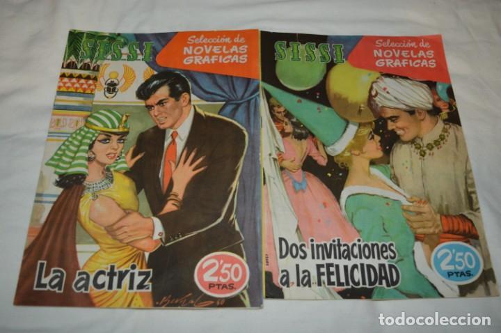 Tebeos: SISSI / 15 revistas / Muy buen estado, sin guillotina - Incluye un ALMANAQUE / Años 60 ¡Mira! Lote 1 - Foto 6 - 245290510