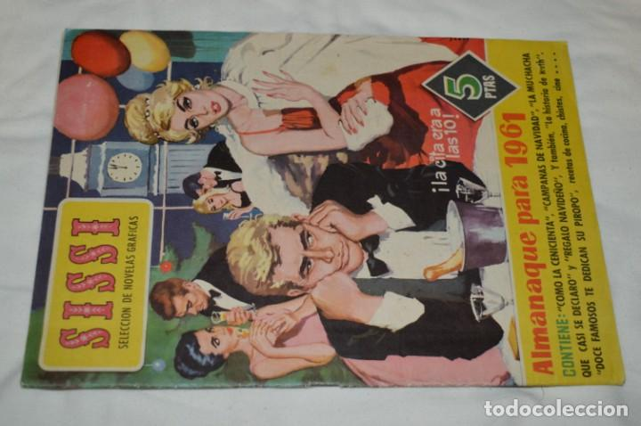 Tebeos: SISSI / 15 revistas / Muy buen estado, sin guillotina - Incluye un ALMANAQUE / Años 60 ¡Mira! Lote 1 - Foto 16 - 245290510