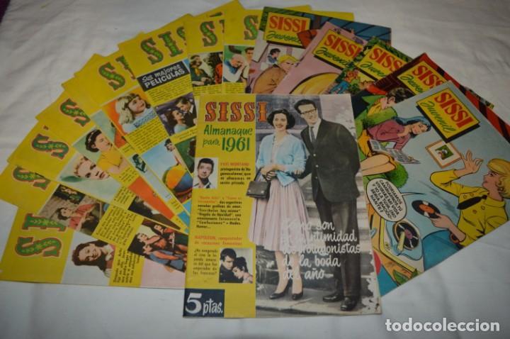 SISSI / 15 REVISTAS / MUY BUEN ESTADO, SIN GUILLOTINA - INCLUYE UN ALMANAQUE / AÑOS 60 ¡MIRA! LOTE 2 (Tebeos y Comics - Bruguera - Sissi)