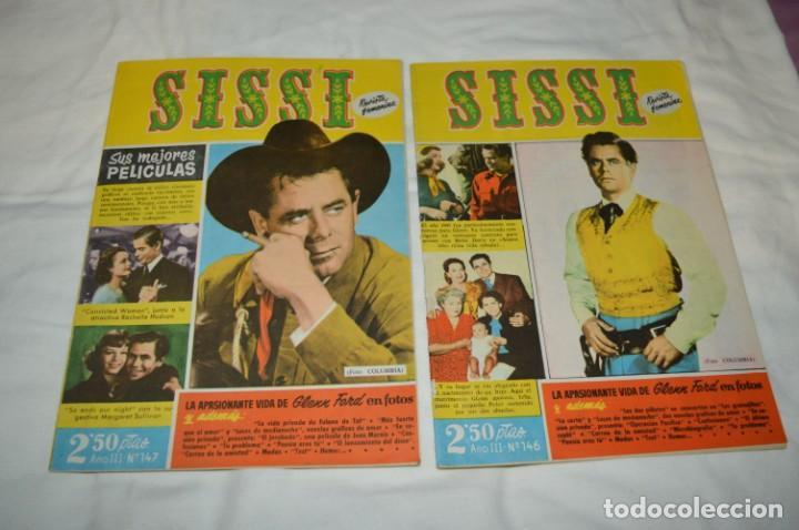 Tebeos: SISSI / 15 revistas / Muy buen estado, sin guillotina - Incluye un ALMANAQUE / Años 60 ¡Mira! Lote 2 - Foto 8 - 245293995