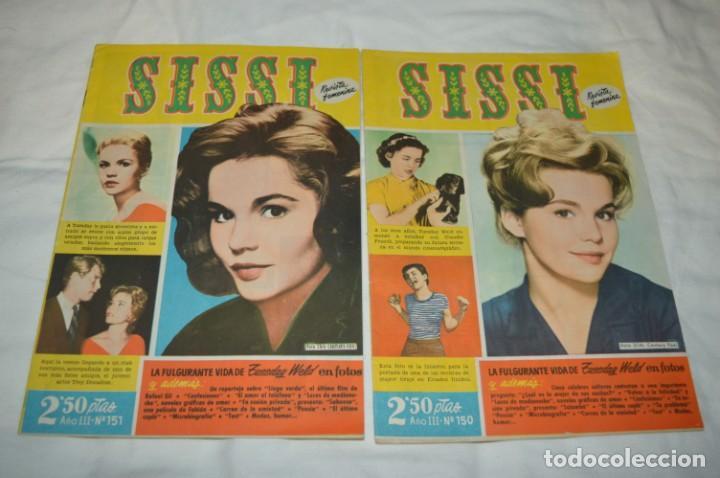 Tebeos: SISSI / 15 revistas / Muy buen estado, sin guillotina - Incluye un ALMANAQUE / Años 60 ¡Mira! Lote 2 - Foto 12 - 245293995