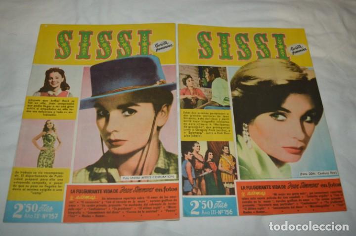 Tebeos: SISSI / 15 revistas / Muy buen estado, sin guillotina - Incluye un ALMANAQUE / Años 60 ¡Mira! Lote 2 - Foto 14 - 245293995
