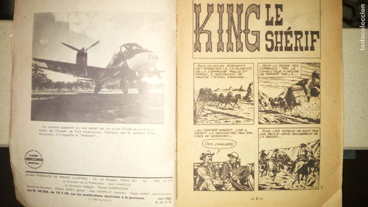 SHERIFF KING Nº 1 EN FRANCES AÑO 1967 MUY RARO 35 PAGINAS DEL PRINCIPIO DE SHERIFF KING (Tebeos y Comics - Bruguera - Sheriff King)