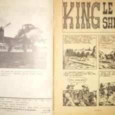 Tebeos: SHERIFF KING Nº 1 EN FRANCES AÑO 1967 MUY RARO 35 PAGINAS DEL PRINCIPIO DE SHERIFF KING. Lote 245385710