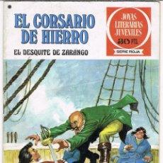 Tebeos: EL CORSARIO DE HIERRO NUMERO 34. EL DESQUITE DE ZARANGO. Lote 245399390