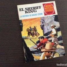 Tebeos: EL SHERIFF KING NÚMERO 20 LA HISTORIA DE GRECO STORM. Lote 245550130
