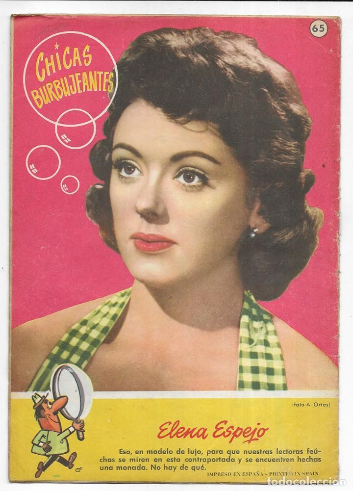 Tebeos: CAN CAN La Revista de las Burbujas. Nº- 65 1959 - Foto 2 - 245571195